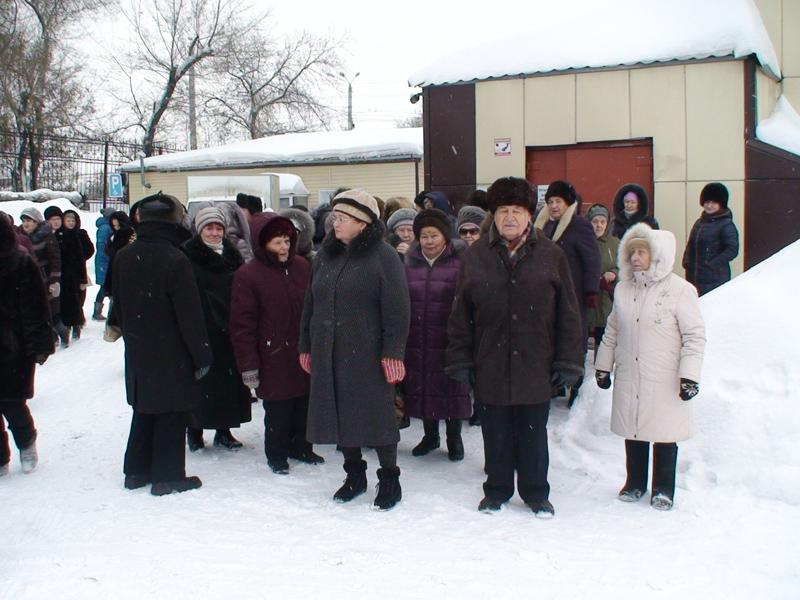 Эвакуация из здания Центра отдыхающих отделения дневного пребывания