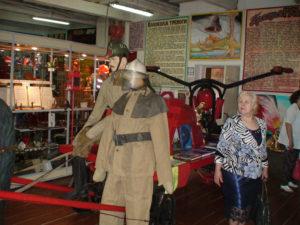 Посещения музея История пожарной охраны
