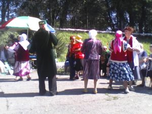 Встреча в Ветеранском дворике