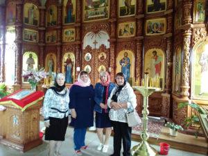 В храме иконы Божией Матери
