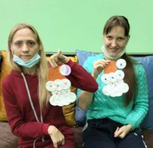 Долженко Ольга и Малетина Антонина