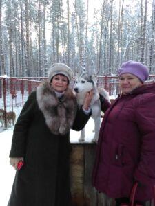 Знакомство с обитателями питомника Сибирский хаски