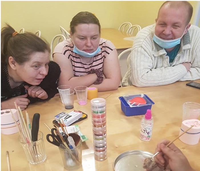 Школа для молодых инвалидов под названием «Новые возможности»