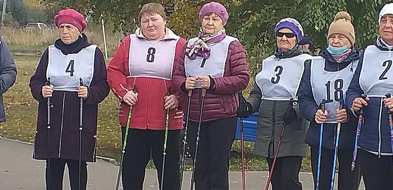 скандинавская ходьба для лиц пожилого возраста