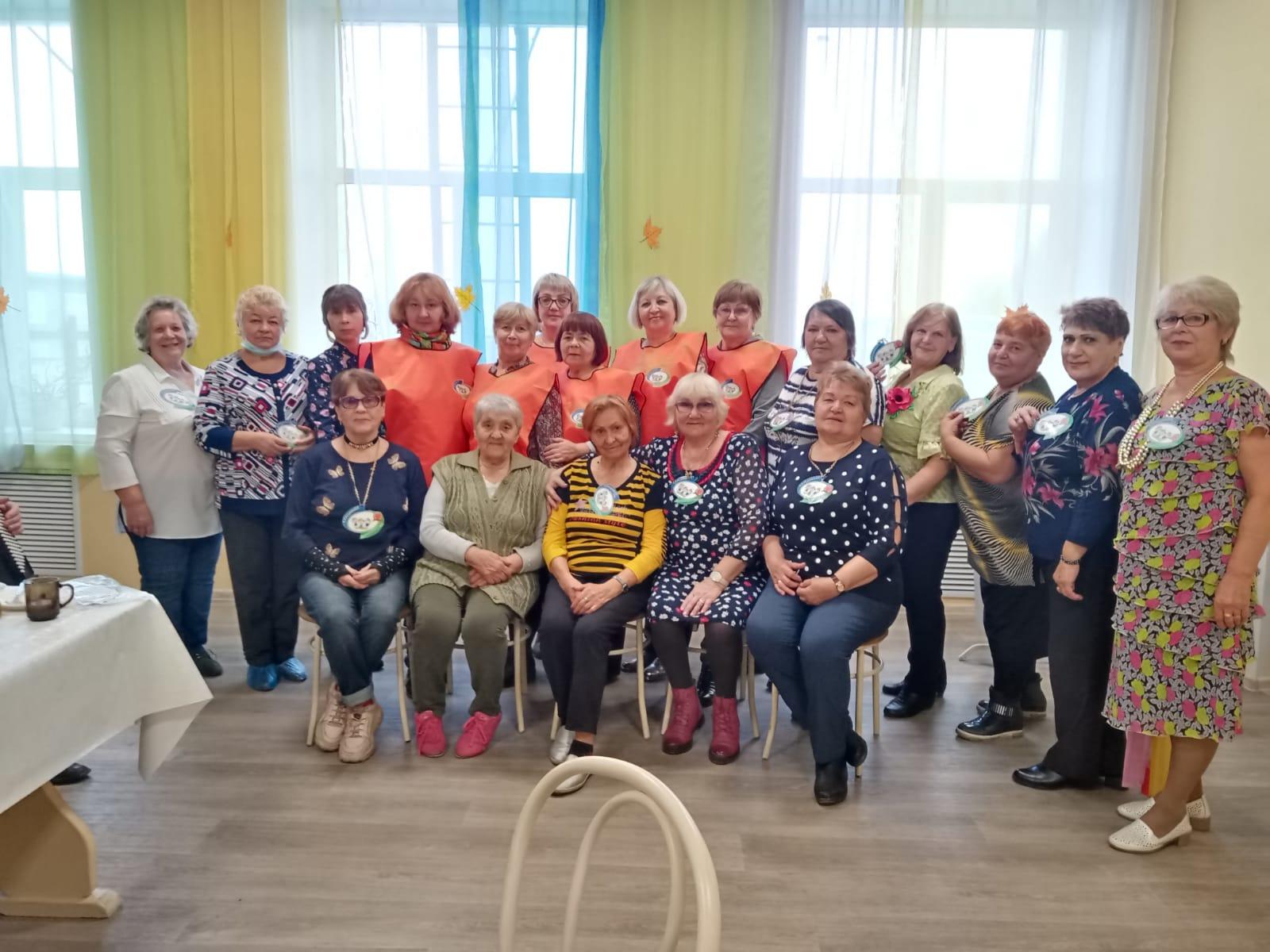Осенний бал Волонтеров Серебряного возраста