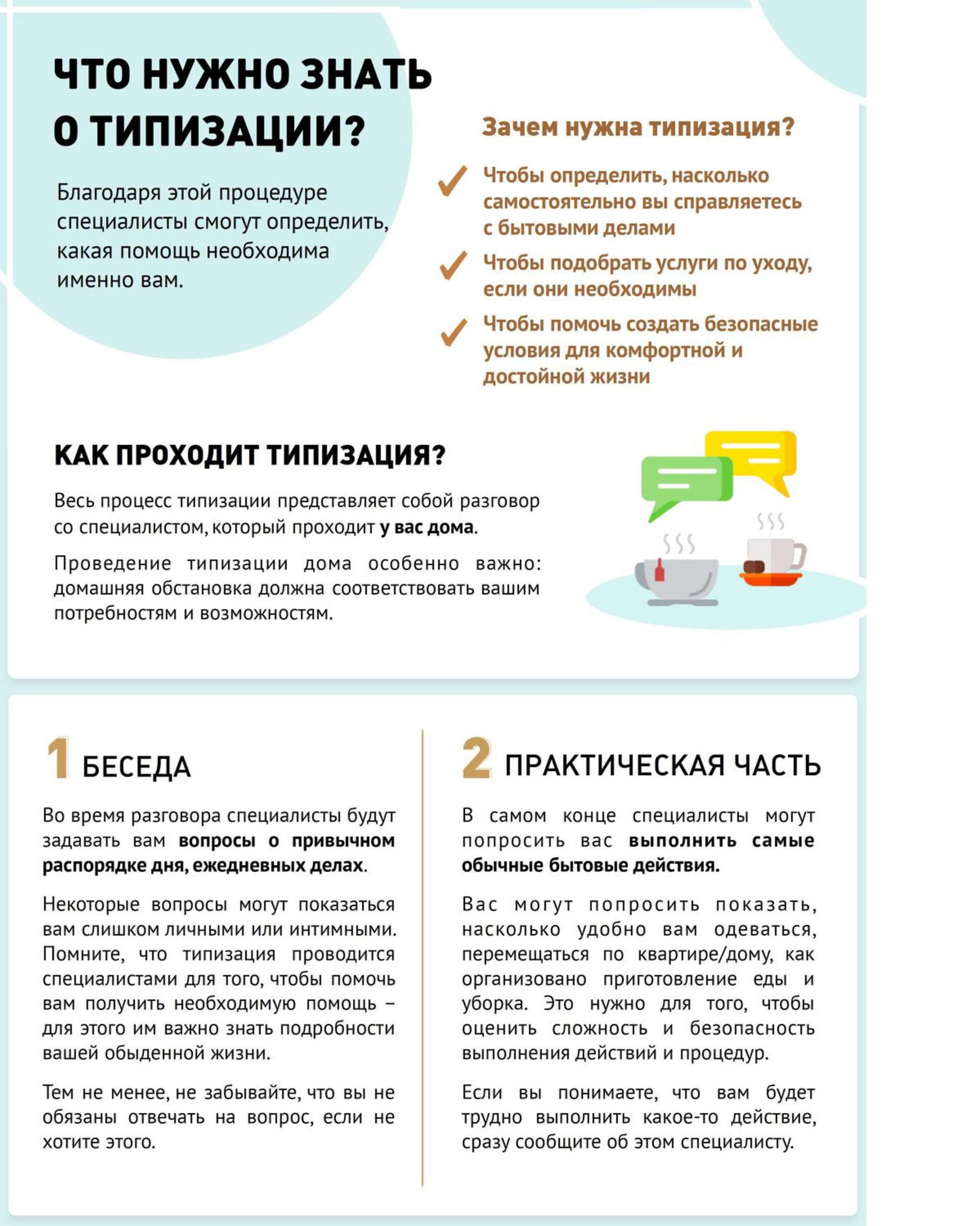 Типизация граждан для получения социальных услуг на дому1