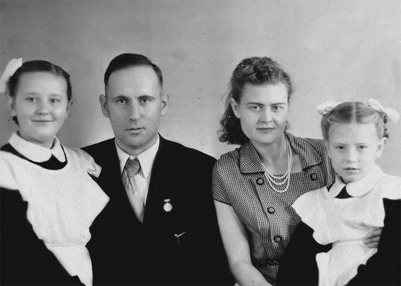 Бюльт Т.И. со своей семьей