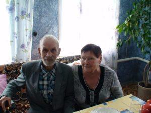 Людмила Андреевна и ее супруг Анатолий Васильевич Голубевы
