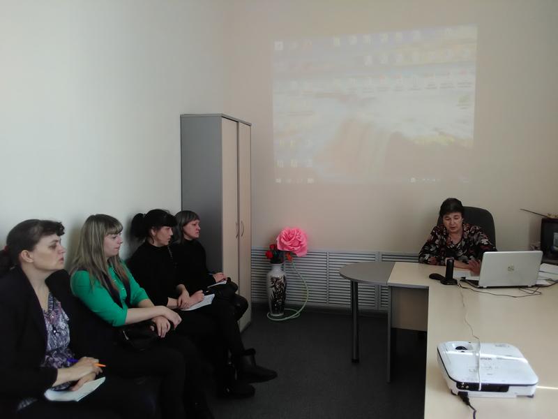 Обучение социальных работников