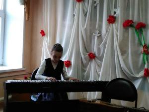 Звучит фортепиано