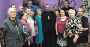 Крещенские праздники в отделении дневного пребывания
