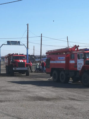 Государственная пожарная служба МЧС России