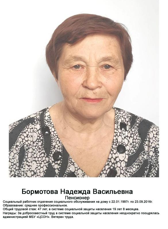 Бормотва Надежда Васильевна