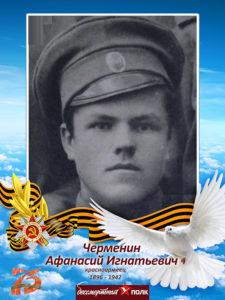 Бессмертный полк Черменин АИ