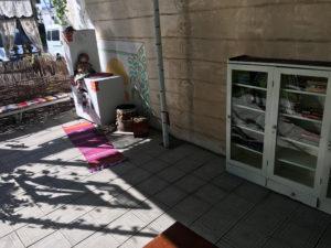 Уличная библиотека в Ветеранском дворике
