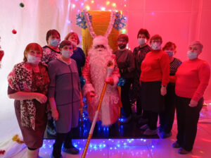 Студенты факультета Домоводство в гостях у Деда Мороза