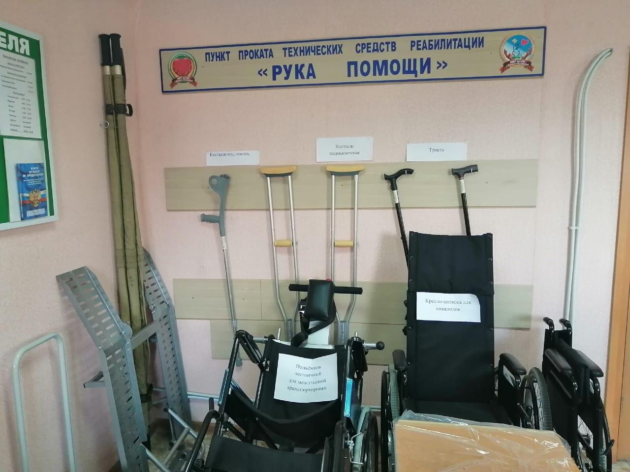 технические средства реабилитации Пункта проката
