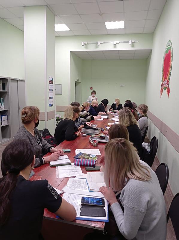 Беседа с социальными работниками отделения №7