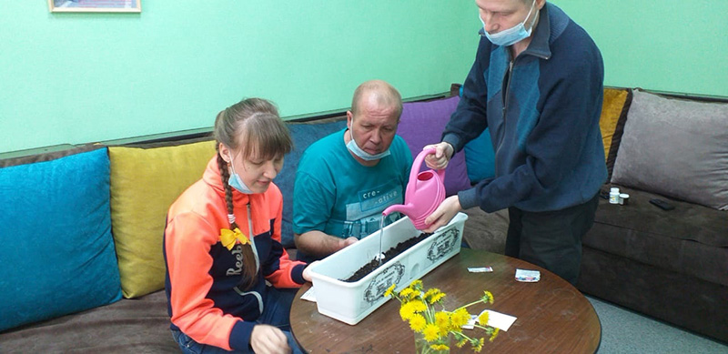 Проект «Гарденотерапия»