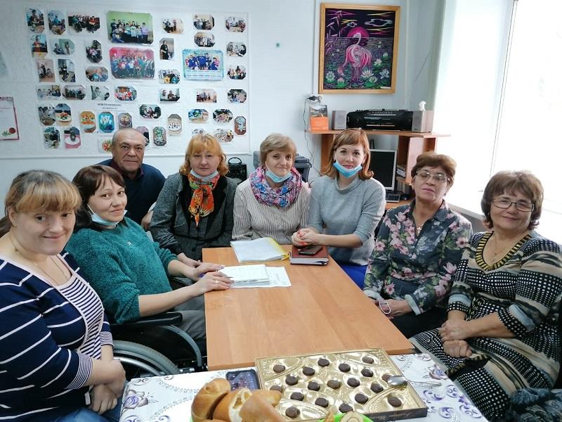 встреча в обществе инвалидов 2021